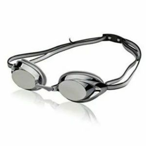 Speedo jr vanquisher mirrored goggles